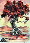 Jubokko -The Vampire Tree - Yokai by FrancisLugfran
