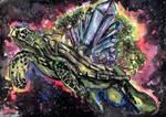 Cosmic Turtle Island - The Kosmokrator by FrancisLugfran