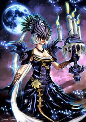 NOX - Goddess of Night by FrancisLugfran
