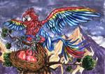 ARARASTRAL - Arara-Astral -The Dream Gryphon by FrancisLugfran