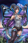 KORRIGAN - Violet Elemental by FrancisLugfran