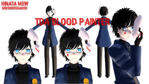 [MMDxCREEPYPASTA]- TDA BLOODY PAINTER by HinataMew