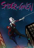 Spider Gwen issue 001 by sknng