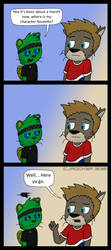 Hey You got a comic by Cj-The-Otter
