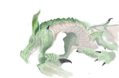 Dragon by NightyMarey