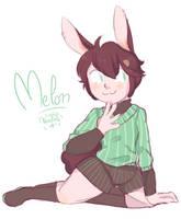 [OC] Melon by Noodlette