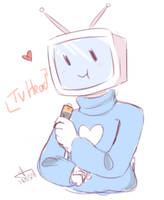 [Gift] Tv Headed by Noodlette