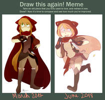 [OC] Draw this again ! Meme by Noodlette