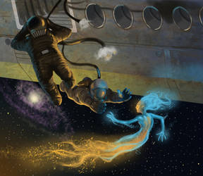 terror of the space mermaids by RMalijan