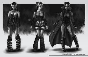 Divatox re-imagined Concepts by BoredToLife