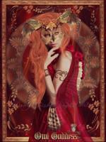 Owl Goddess by VeilaKs