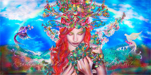 Spring Goddess by VeilaKs