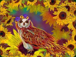 Sun Bird by VeilaKs