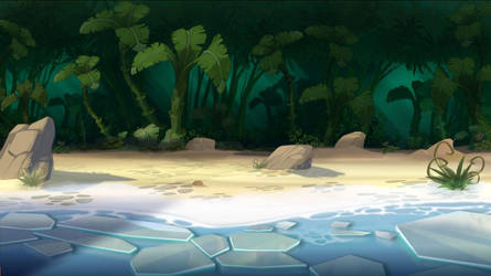 ice/jungle by cyrilcorallo