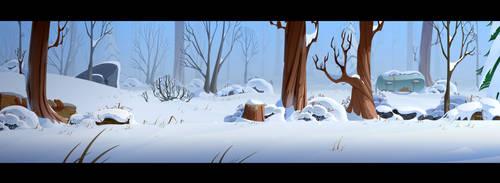 Harold Arctic dev BG 02 by cyrilcorallo