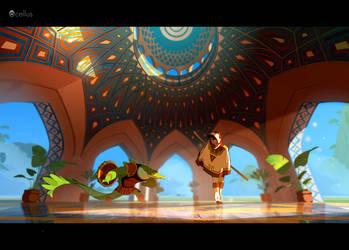 Game dev//HENZO/// Ocellus studio by cyrilcorallo