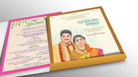 Allutlas ART Wedding Card-2 by ammab8
