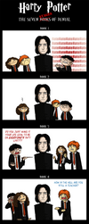 Harry Potter: The 7 Stages of Denial by Flying-Foxx