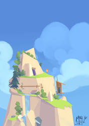 adventure mountain by westykid
