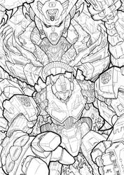 Transformer : pencil by numbo