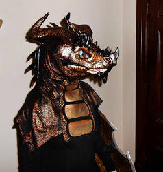Copper Dragon Head n Neck by Crovv
