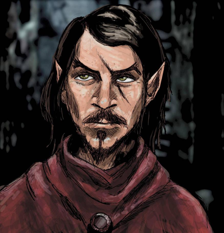 Jules The Half Elf Rogue By Splitmindbarrier On Deviantart