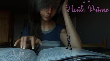 Reading Sarah by HailePrime