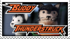 Buddy Thunderstruck Stamp by Vertical-Misfit