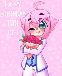 Tori Himemiya Birthday 13/1 by Ama-Foxy