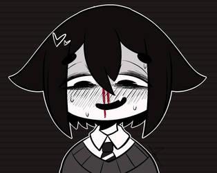 [ OC ] Nosebleed by Ama-Foxy
