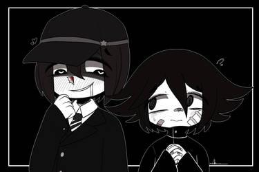 [ Pre-game] Kagehara and Bonkichi by Ama-Foxy