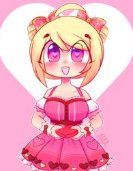 Valentine Kaede by Ama-Foxy