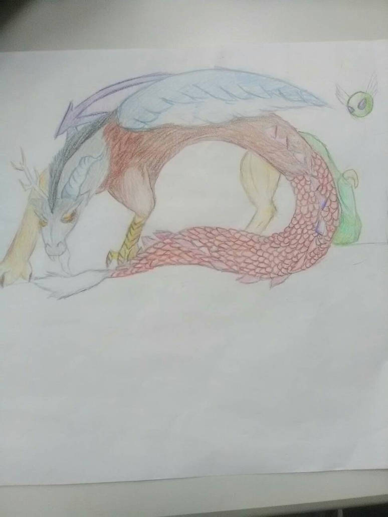Just a doodle Realistic Discord by Blueart14