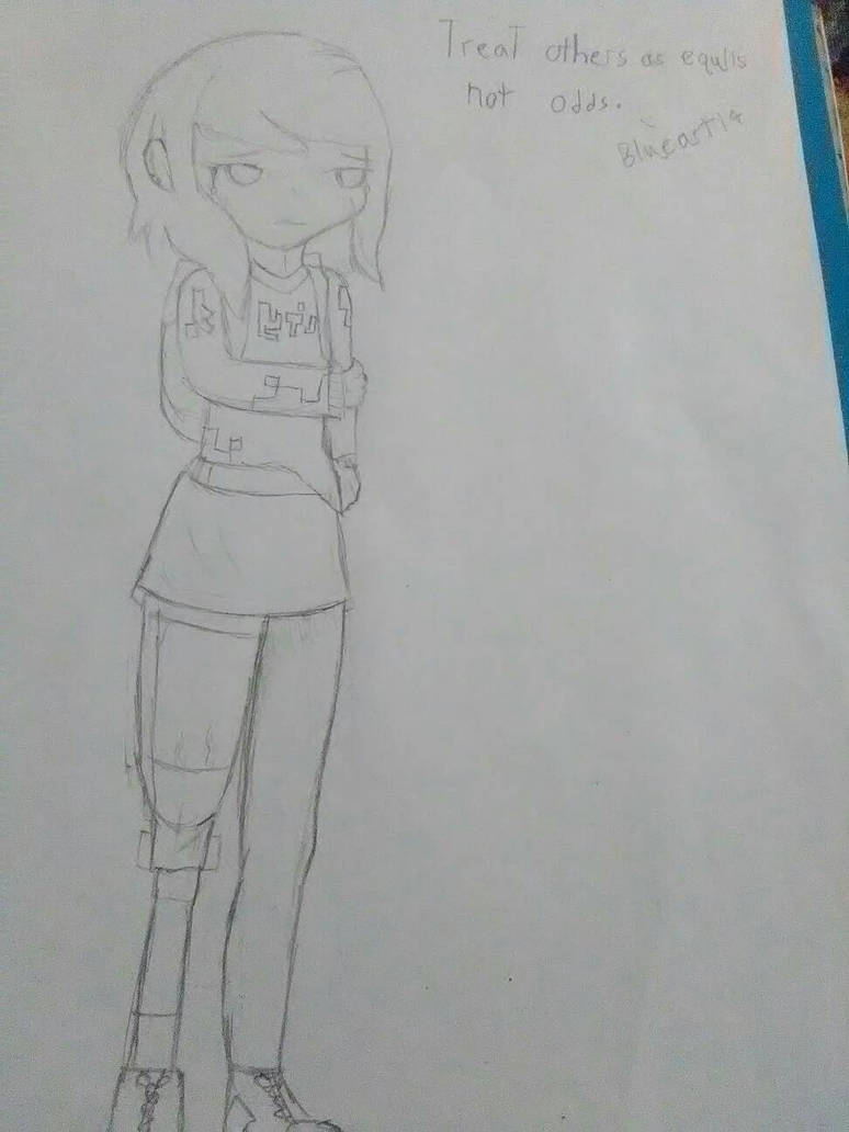 Just a Doodle pixel  by Blueart14
