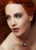 Simone Portrait by vyanka