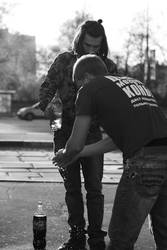 hygiene on the street by Fomich