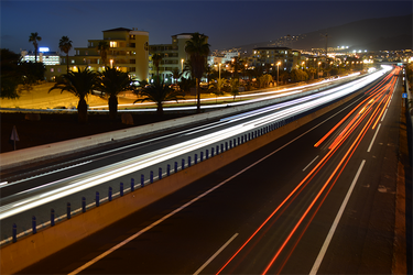 Autopista del sur de Tenerife by Fomich