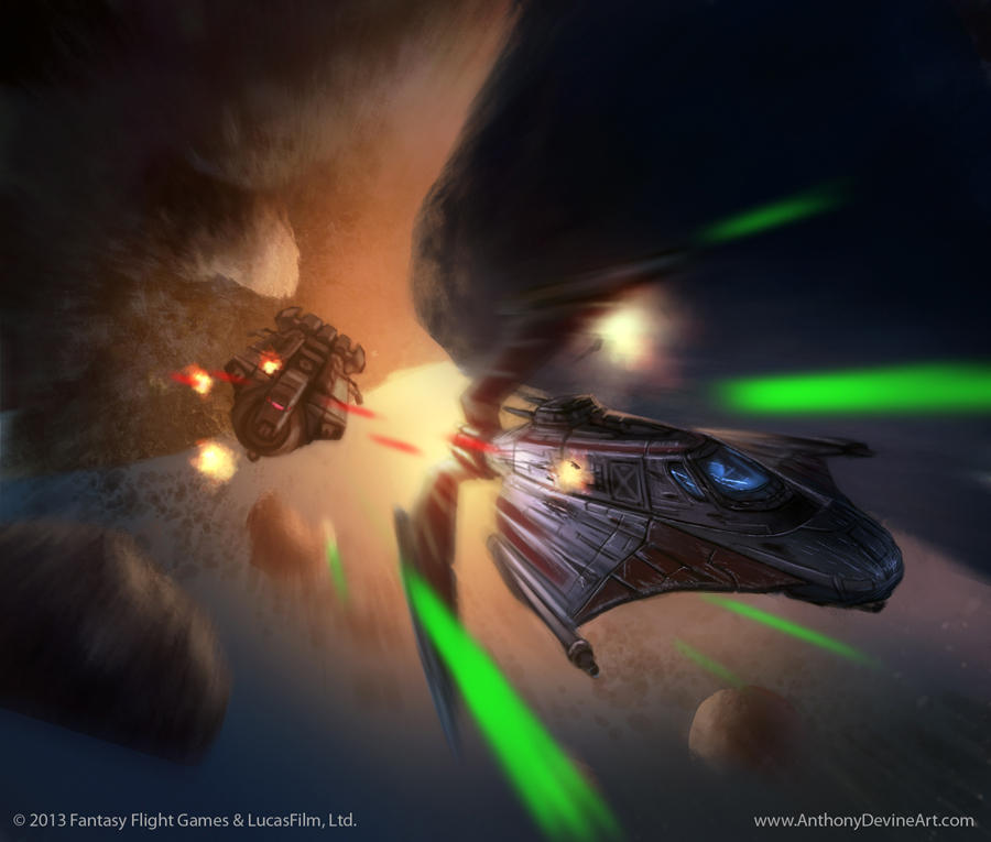 Star Wars: TCG - Outmaneuver by AnthonyDevine by AnthonyDevine