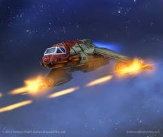 SW X-Wing Cartel Marauders by AnthonyDevine