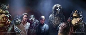 STAR WARS Feigning Captivity by AnthonyDevine