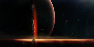Speed Paint 4- Space by AnthonyDevine