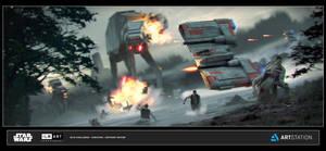 ILM Art Dept Challenge- The Ride No.2- Rescue by AnthonyDevine