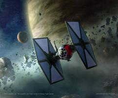 Star Wars: Debris Gambit by AnthonyDevine