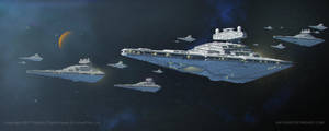 STAR WARS- Seventh Fleet Star Destroyer by AnthonyDevine