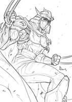 The Shredder sketch by AnthonyDevine