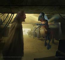 STAR WARS Podracer Betting by AnthonyDevine