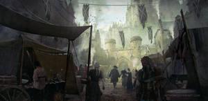 Medieval Market by AnthonyDevine