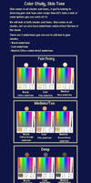 Color Study- Skin Tone by RHLPixels