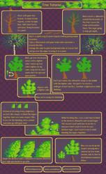 Tree Tutorial by RHLPixels