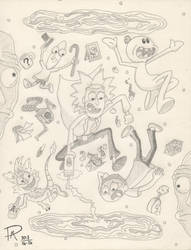 Rick and Morty by Drorito